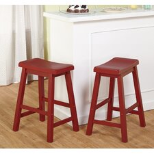 "Belfast 24"" Bar Stool (Set of 2)"