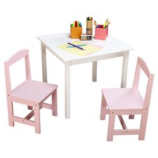 Hayden Kids 3 Piece Table and Chair Set