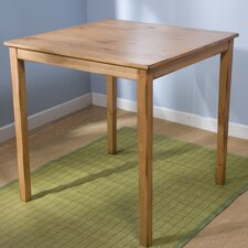 Belfast Pub Table in Rustic Oak
