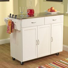 <strong>TMS</strong> Kitchen Cart with Stainless Steel Top