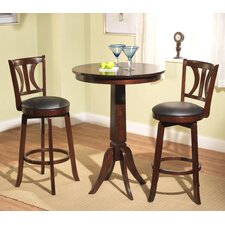 <strong>TMS</strong> Houston 3 Piece Pub Table Set
