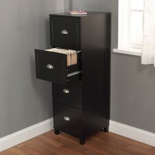 Bradley 4-Drawer Filing Cabinet
