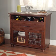 Tivoli 8 Bottle Tabletop Bar Cabinet