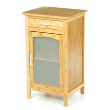Bamboo 1 Drawer Linen Floor Cabinet
