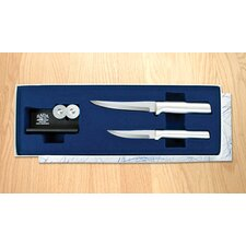 Paring Pair Plus Sharpener Gift Set