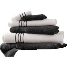 Stripe 6 Piece Towel Set