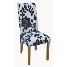 Flower Print Dining Chair