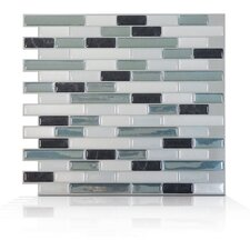 Mosaik Self Adhesive Wall Tile in Muretto Brina (Set of 6)
