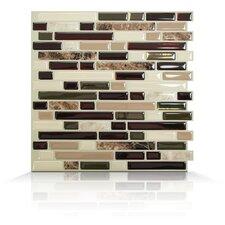 Mosaik Self Adhesive Wall Tile in Bellagio Keystone