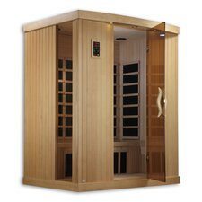 Puretech Low EMF 3 Person IR Carbon FAR Infrared Sauna