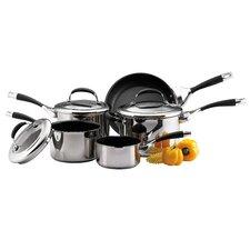 Elite Stainless Steel 8 Piece Cookware Set