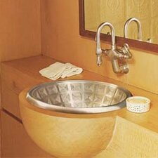 Large Round Pantheon Bathroom Sink