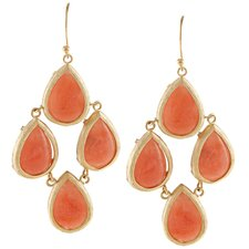<strong>KC Signatures</strong> Teardrop Chandelier Drop Earrings