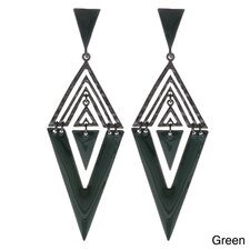 Aztec Drop Earrings