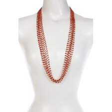 <strong>KC Signatures</strong> Seed Beaded Layered Necklace