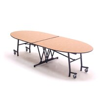 Vinyl Edge Particle Board Empire Mobile Table