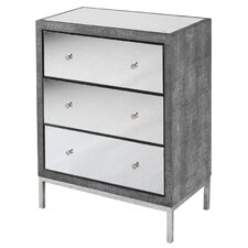 Metropolitan 3 Drawer Chest