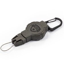 Hunting Series Retractable Gear Tether with Small Carabineer