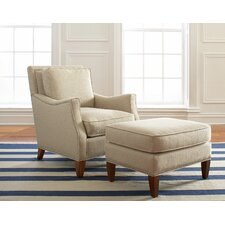 <strong>Libby Langdon Upholstery</strong> Haynes Chair and Ottoman
