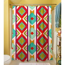 Ikat Shower Curtain