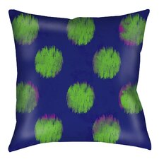 Big Dots Printed Pillow