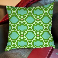 Francie Trellis Printed Pillow