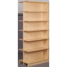 "Library 84"" Adder Double Face Shelf Bookcase"