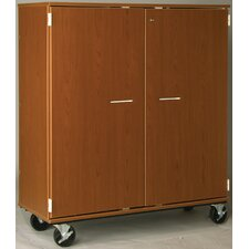 "Music 55"" Band/Orchestra Folio Storage with Casters and Doors"