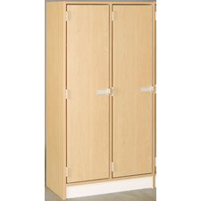Double Door Locker with 2 Shelves