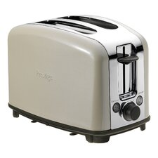 Traditional 2 Slice Toaster in Almond