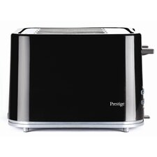 Eco 4 Slice Toaster in Black