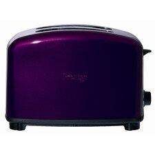 Traditional 2 Slice Toaster in Purple