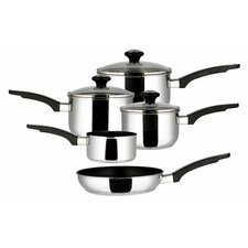 Everyday 8 Piece Stainless Steel Cookware Set