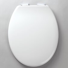 Eclipse Soft Close Toilet Seat in White