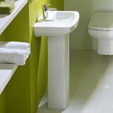 Vibe Pedestal Basin in White