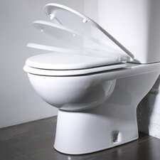 Micra Soft Close Toilet Seat in White