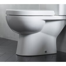 Ion Soft Close Toilet Seat in White