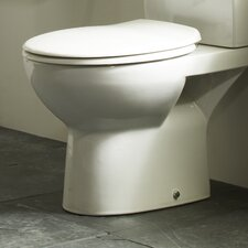 Rio Soft Close Toilet Seat in White