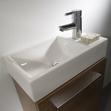 Kobe Countertop Basin in White