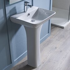 Structure Pedestal Basin in White
