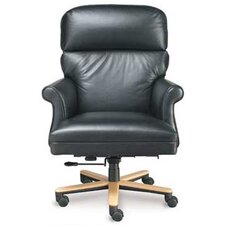 <strong>High Point Furniture</strong> High-Back Executive Chair with Spider Swivel Base