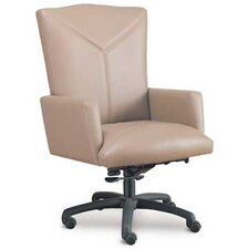 High-Back Executive Chair with Spider Swivel Base