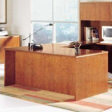 "<strong>High Point Furniture</strong> Forte 72"" W Executive Desk Shell"
