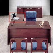 "<strong>High Point Furniture</strong> Vitality 29"" H x 48"" W 3/4 Pedestal Desk Height Right Desk Return"