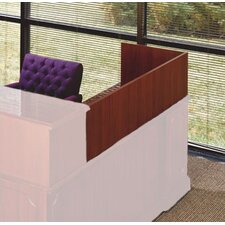 "<strong>High Point Furniture</strong> Bedford 13"" H x 48"" W Desk Reception Screen"