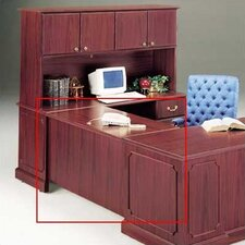 "<strong>High Point Furniture</strong> Wyndham 29"" H x 48"" W Desk Bridge"