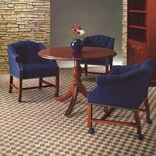 """Bedford Traditional 42"""" Round Conference Table"""