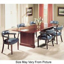 "Traditional 96"" W Rectangle Conference Table"