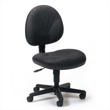 Mid-Back Armless Task Chair