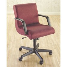 <strong>High Point Furniture</strong> Mid-Back Managerial Chair with Arms